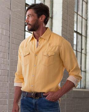 Ryan Michael Men's Flax Waffle Texture Shirt , Natural, hi-res