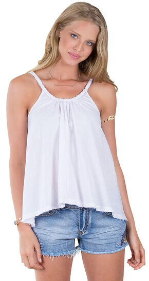Others Follow Women's Sunbather White Tank Top , White, hi-res