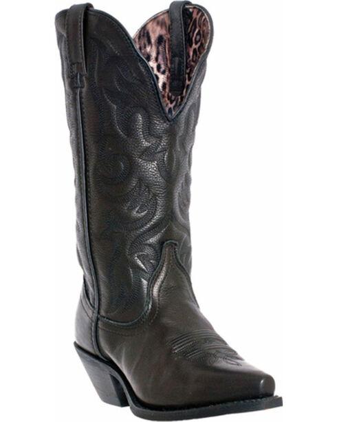 Laredo Access Deep Dip Cowgirl Boots - Snip Toe, Black, hi-res