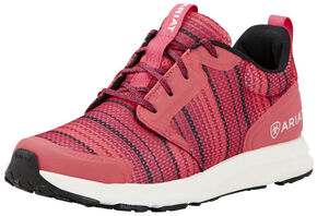 Ariat Women's Pink Fuse Serape Shoes, Pink, hi-res