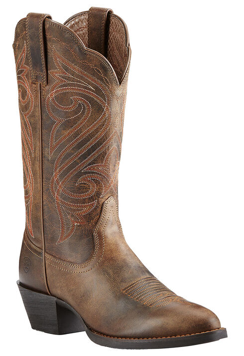 Ariat Women's Round Up Cowgirl Boots - Medium Toe, Toffee, hi-res