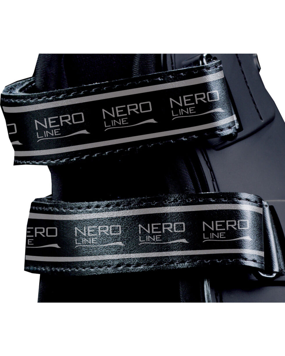Veredus Black Pro Jump Xtra Replacement Velcro Straps, Black, hi-res