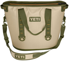 YETI Hopper 40 Soft Side Cooler, Tan, hi-res