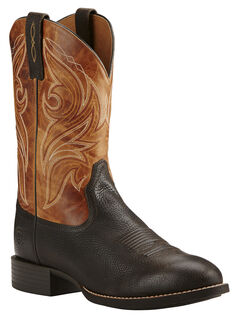 Ariat Heritage Cowpuncher Iron Cowboy Boots - Round Toe, , hi-res