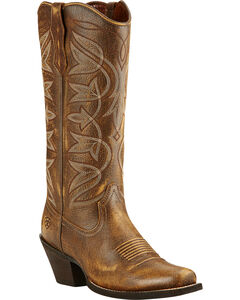 Ariat Vintage Bomber Sheridan Cowgirl Boots - Snip Toe, , hi-res