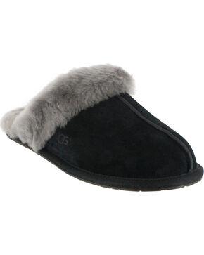 UGG Women's Scuffette II Slippers, Black, hi-res