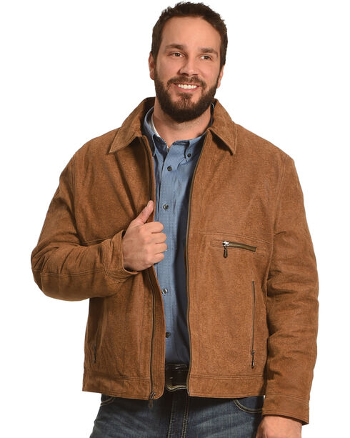 Cripple Creek Men's Brown Concealed Carry Jacket , Brown, hi-res