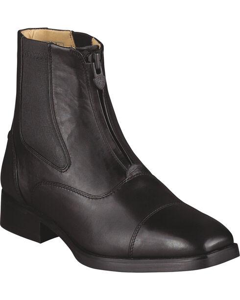 Ariat Women's Monaco Zip Riding Boots, Black, hi-res