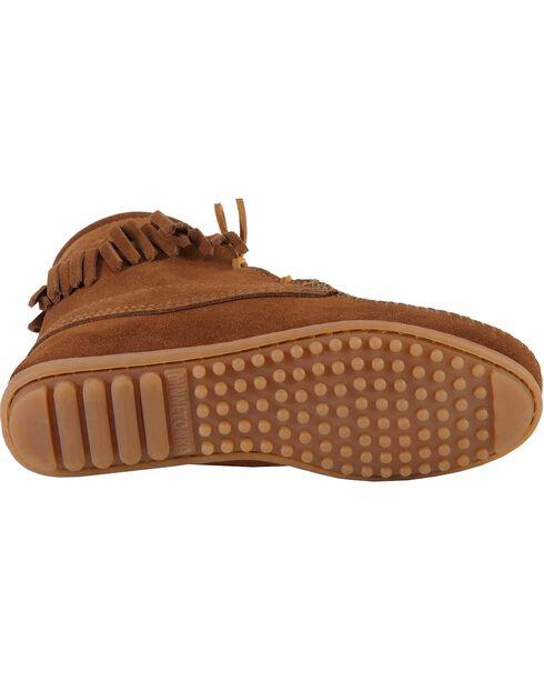 Minnetonka Tramper Moccasin Boots, Brown, hi-res