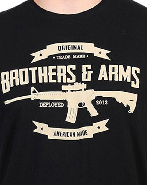 Brothers & Arms Men's Black B&A Signature Tee , Black, hi-res