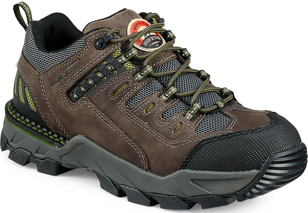 Irish Setter by Red Wing Shoes Men's Two Harbors EH Work Oxfords - Aluminum Toe , Grey, hi-res