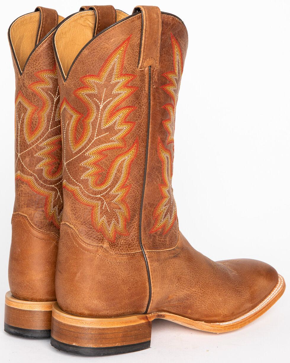 Cody James Men's Brown Stockman Cowboy Boots - Square Toe, Brown, hi-res