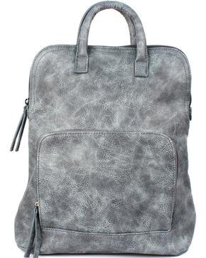 Treska Distressed Backpack, Blue, hi-res