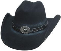 Bullhide Hats Men's Cowboy Collection Stray Bullet Wool Felt Western Hat, , hi-res