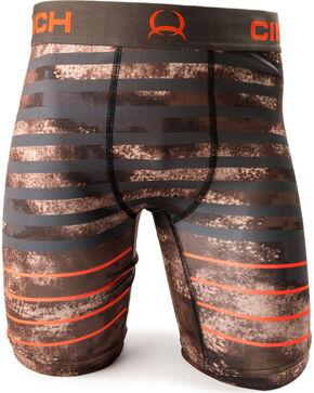 "Cinch Men's Multi Striped 9"" Boxers, Multi, hi-res"