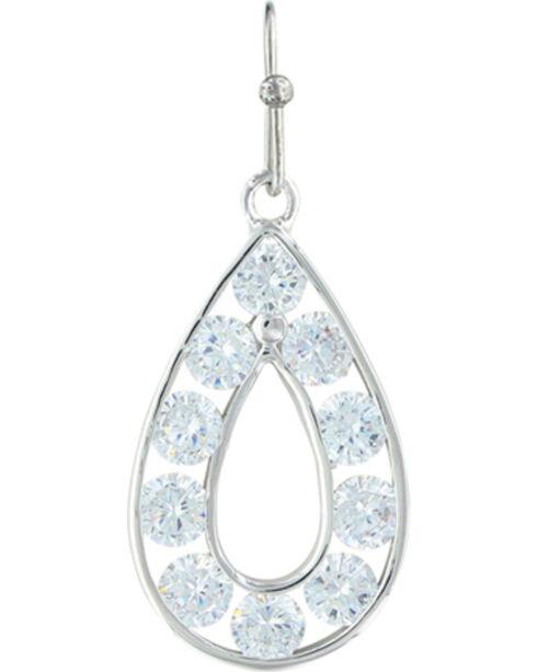 Montana Silversmiths Women's Radiant Teardrop Jewelry Set , Silver, hi-res
