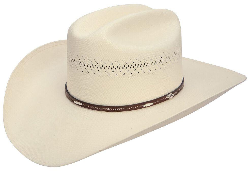 Stetson Deming 10X Shantung Straw Cowboy Hat, Natural, hi-res