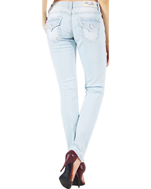 Grace in LA Women's Skinny Denim Jeans, Indigo, hi-res