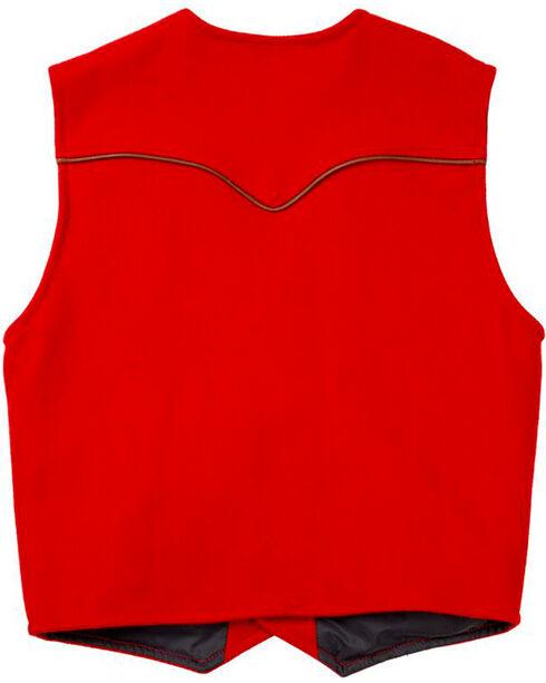 Schaefer Outfitter Men's Red Stockman Melton Wool Vest - 2XL, Red, hi-res