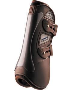 Veredus Olympus Brown Open Front Boots, Brown, hi-res