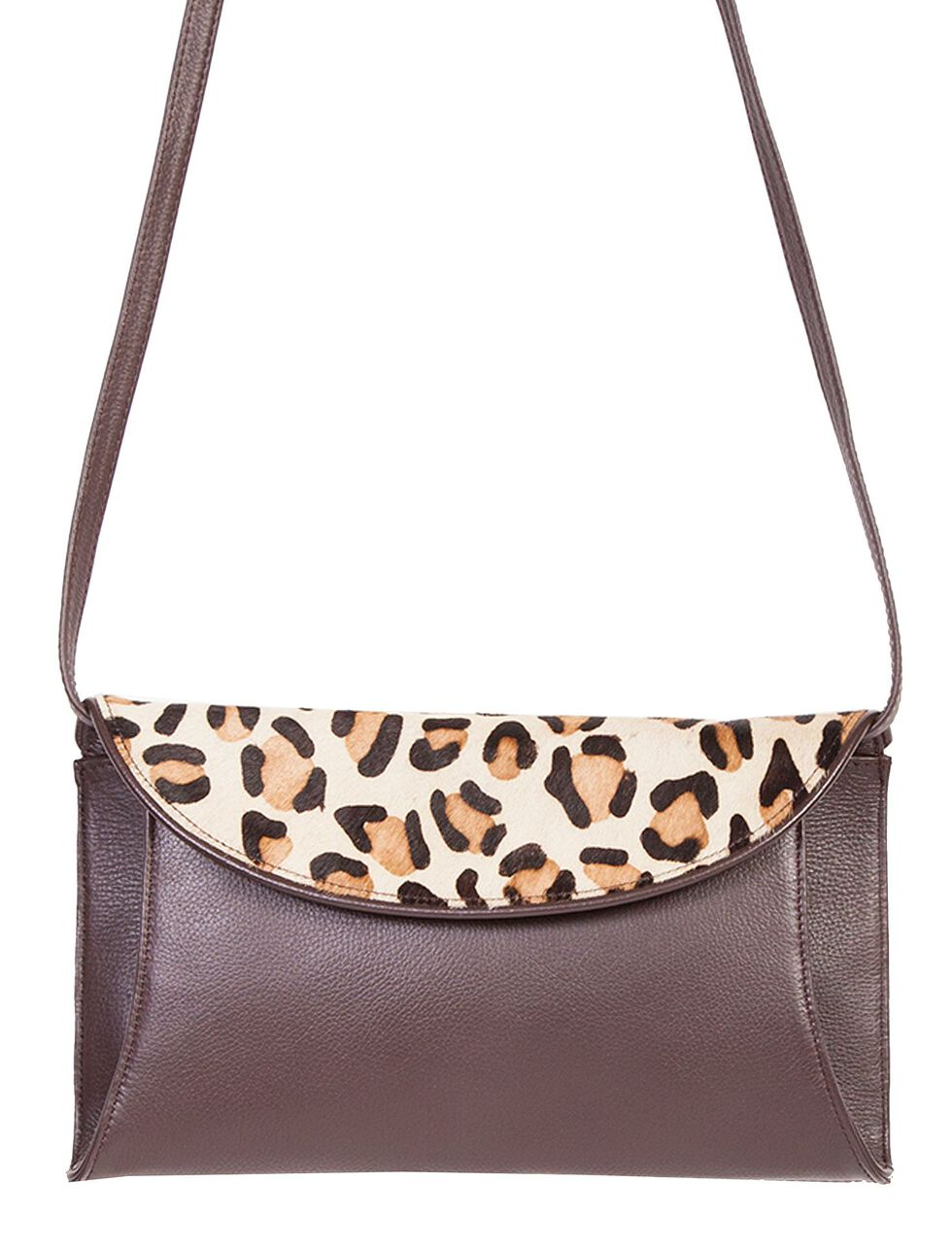 Scully Pebble Leather Shoulder Bag, Brown, hi-res