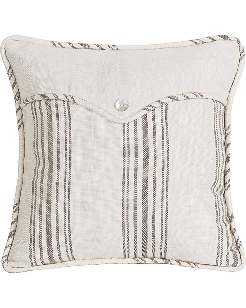 HiEnd Accents Multi Gramercy Square Linen Weave Envelope Pillow, Multi, hi-res