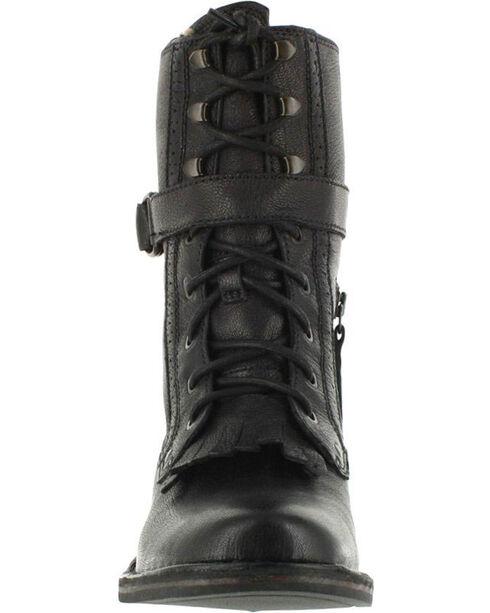UGG Women's Black Jenna Military Boots - Round Toe , Black, hi-res
