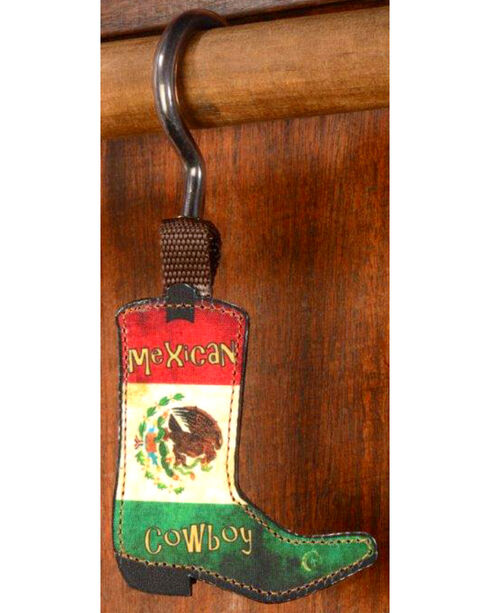 Phunky Horse Mexican Cowboy Hat Hanger, Green, hi-res
