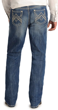 "Rock and Roll Cowboy Double Barrel Relaxed Fit ""A"" Jeans - Straight Leg  , , hi-res"