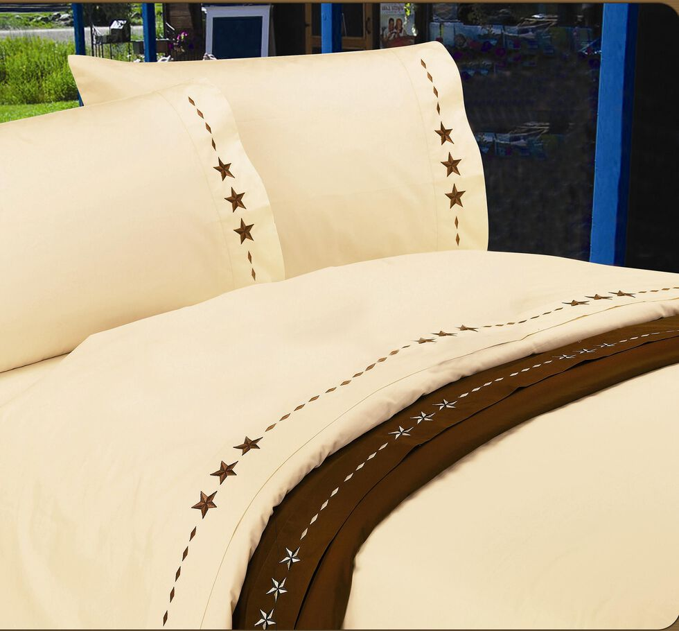 HiEnd Accents Star Full Size Sheet Set, , hi-res