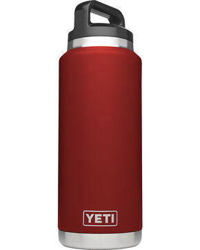 Yeti Brick Red 36oz Bottle Rambler , Red, hi-res
