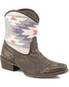 Roper Blanket Short Cowgirl Boots - Snip Toe, , hi-res
