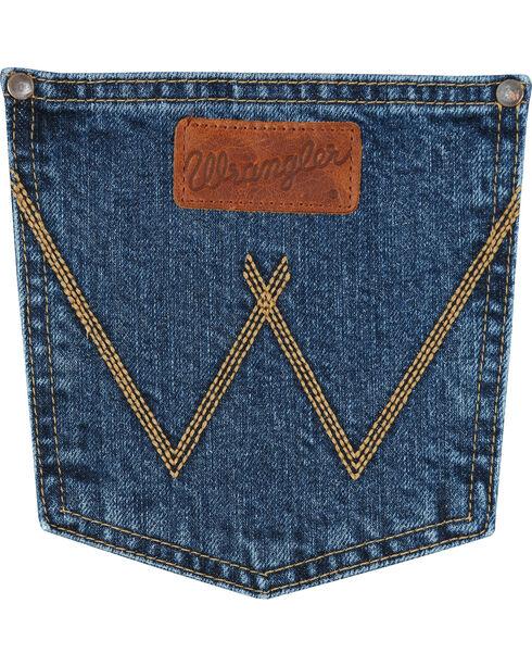 Wrangler Retro Men's Relaxed Fit Straight Leg Jeans - Tall, Blue, hi-res