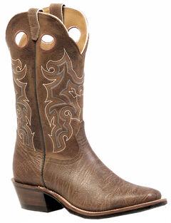 Boulet Shoulder Crazy Horse Boots - Square Toe, , hi-res