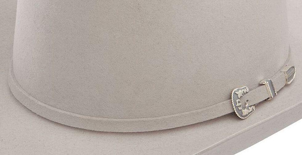 Stetson 6X Skyline Silver Grey Fur Felt Cowboy Hat, Silver Grey, hi-res