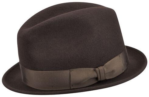 Country Gentleman Men's Brown Floyd Wool Hat, Brown, hi-res