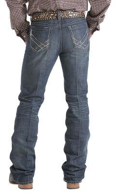 Cinch Ian Stonewash Slim Fit Jeans - Boot Cut   , , hi-res
