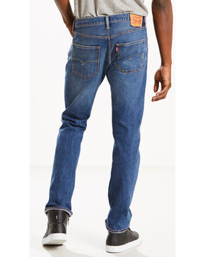 Levi's Men's 501 Original Fit Jeans - Straight Leg , Indigo, hi-res