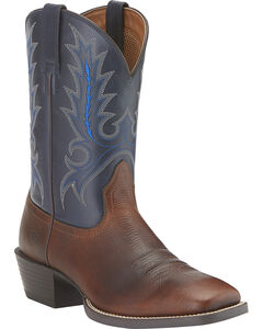 Ariat Sport Outfitter Cowboy Boots - Wide Square Toe, , hi-res
