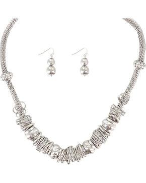 Shyanne Women's Multi-hoop Jewelry Set, Silver, hi-res
