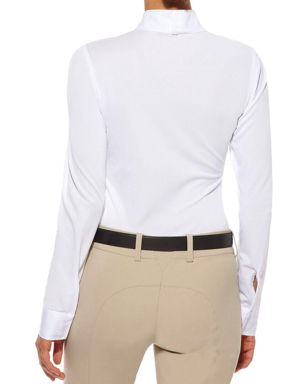 Ariat Triumph Long Sleeve Show Top, White, hi-res