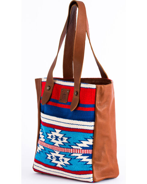 STS Ranchwear Americana Serape Purse , Red/white/blue, hi-res