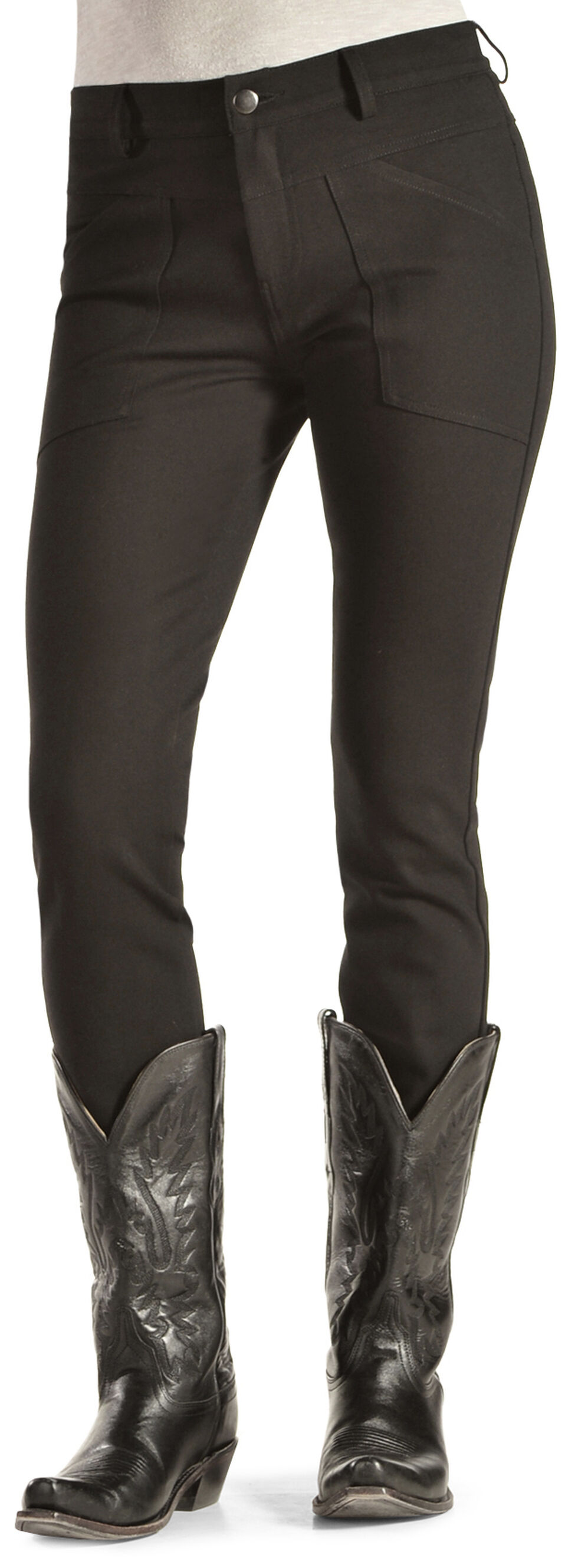 Black Swan Women's Black Ponte Skinny Pants, Black, hi-res