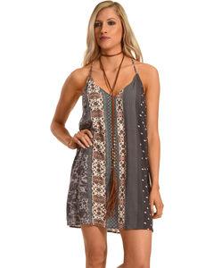 Sage The Label Women's Joscelin Dress , Purple, hi-res
