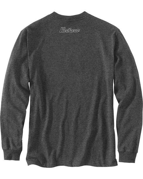 Carhartt Men's Workwear Graphic Carhartt Way Long-Sleeve T-Shirt , Charcoal, hi-res