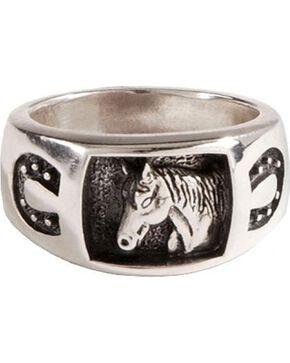 Horseshoe Ring, Silver, hi-res