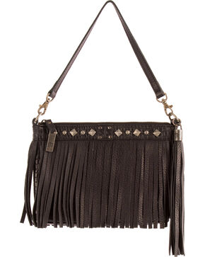 STS Ranchwear Black Dixie Clutch, Black, hi-res