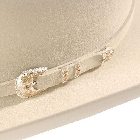 Larry Mahan Belly Superior 500X Fur Felt Western Hat, Belly, hi-res