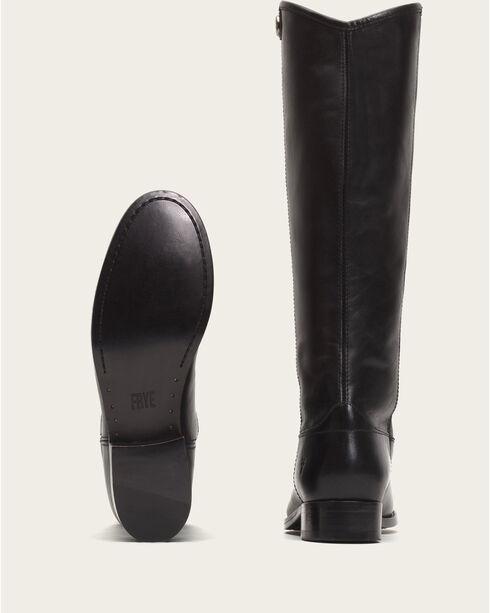 Frye Women's Black Melissa Button 2 Tall Boots - Round Toe , Black, hi-res