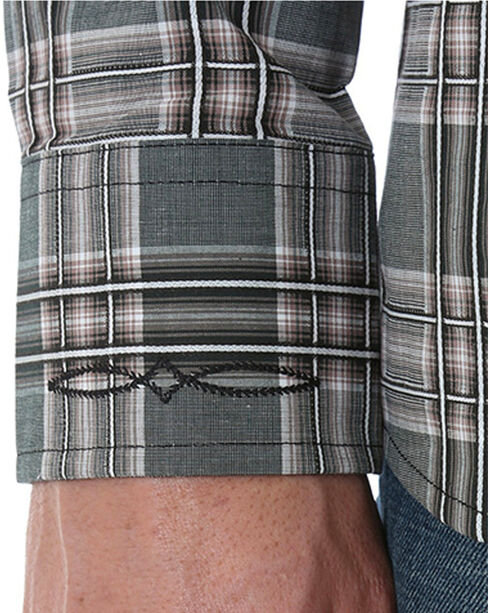 Wrangler Retro Men's Vintage Long Sleeve Shirt, Grey, hi-res